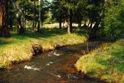 Река Ханчин вмае