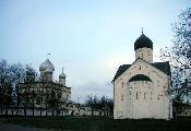 Церковь Спаса Преображения на Ильине и Знаменский собор