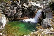 Бассейн сводопадом