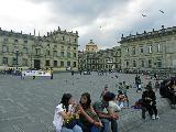 На площади Боливара