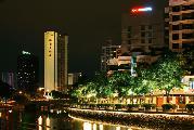 """""""River View Hotel"""" в Сингапуре. Из серии """"Ночной Сингапур"""""""