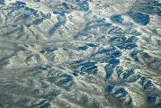 Зимняя Монголия: вид сверху