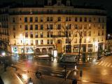 Улица Бельвиль ночью