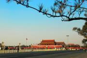 Площадь Тяньаньмэнь и главные ворота в Запретный Город
