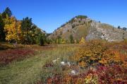 Осень в пади Малая Кадильная
