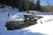 """Мост Надёжный"" зимой"