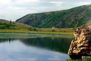 Озеро наперевале
