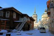 Переулок Краснофлотский. Зима.