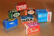 Фотоплёнки 1970-1980 гг.