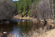 На излучине реки