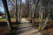 Парк в музее-усадьбе Абрамцево