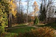 В парке музея-усадьбы Абрамцево