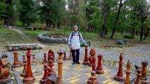 В парке Валя Морилор (Valea Morilor)