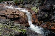 Водопад вверхнем течении Каменки
