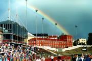 Радуга над стадионом