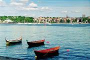 Лодки на фиорде