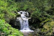 Водопад наОсиновском ручье